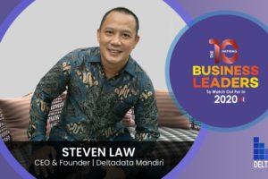 Steven Law Founder of Deltadata Mandiri