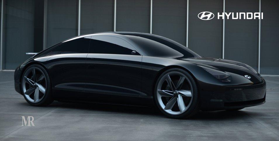 """Hyundai's """"Prophecy"""" Concept EV Expresses Sensuous Sportiness"""