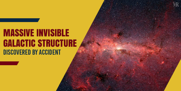 Massive galactic structure discovered, by accident